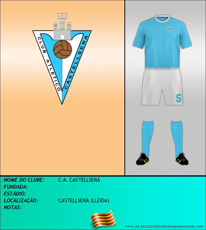 Escudo de C.A. CASTELLSERÁ