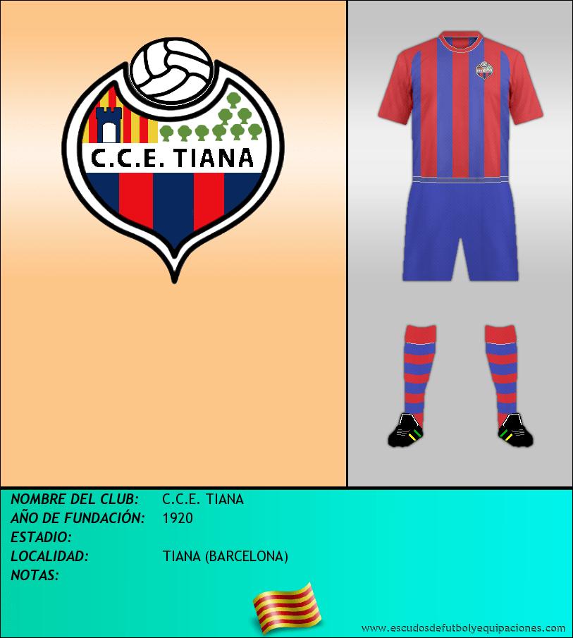 Escudo de C.C.E. TIANA