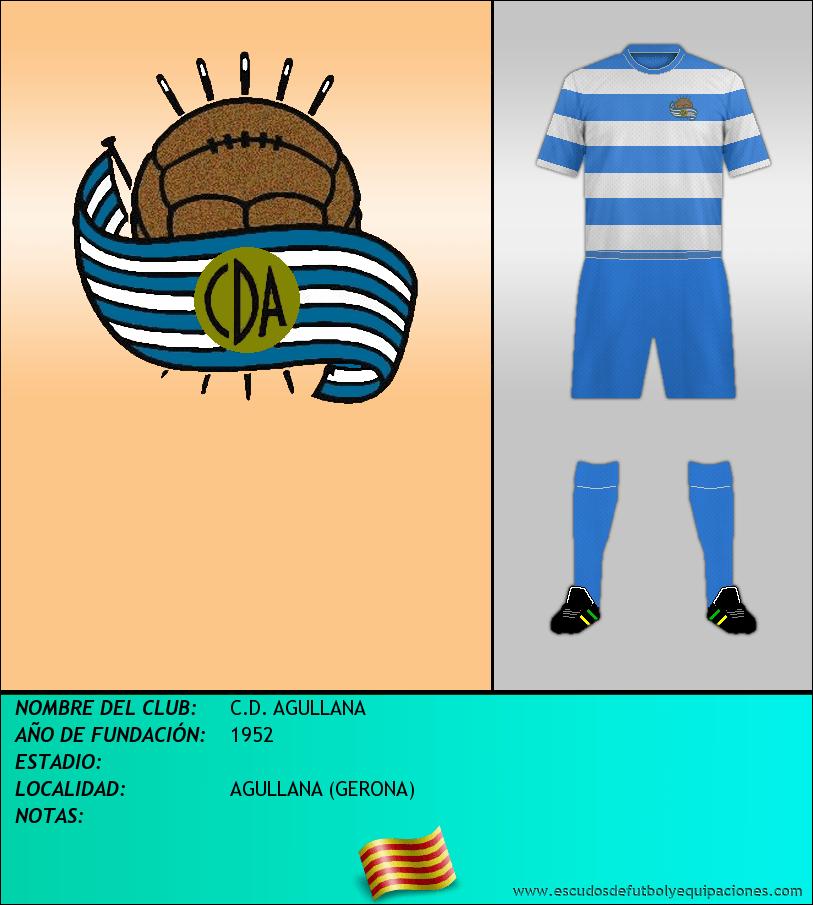 Escudo de C.D. AGULLANA