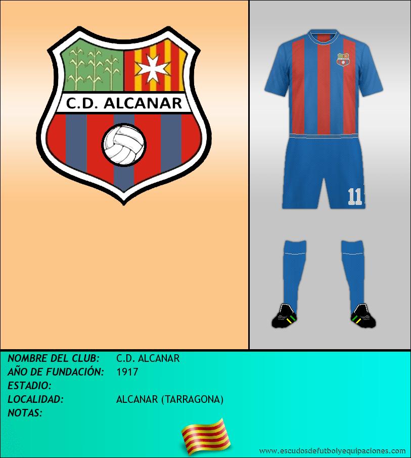 Escudo de C.D. ALCANAR
