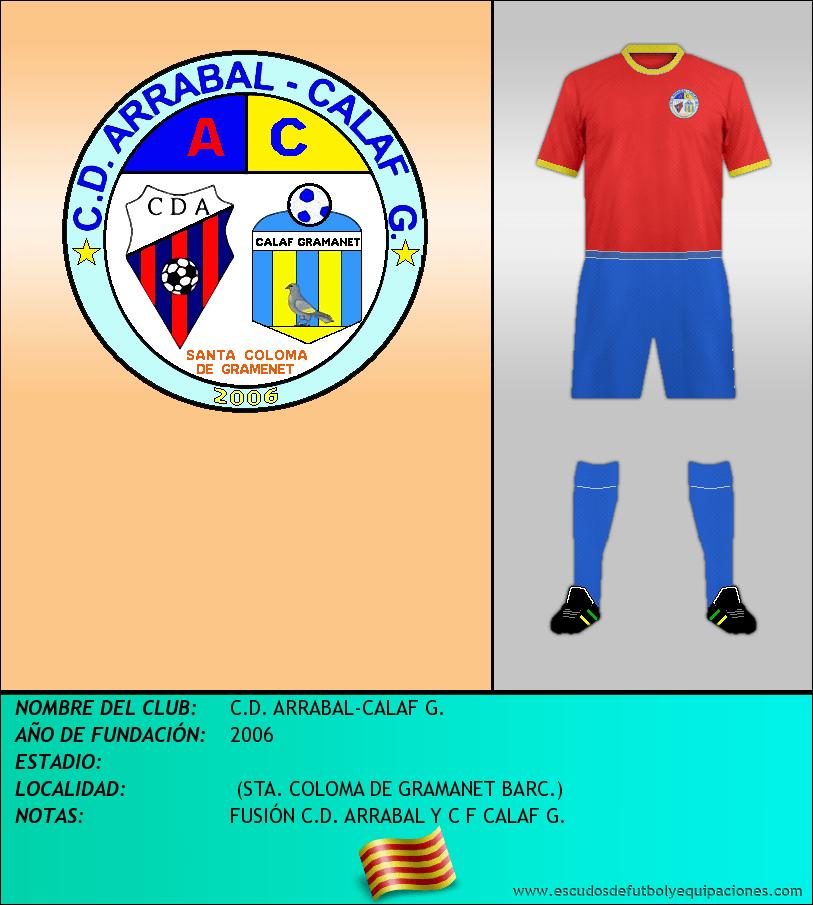 Escudo de C.D. ARRABAL-CALAF G.