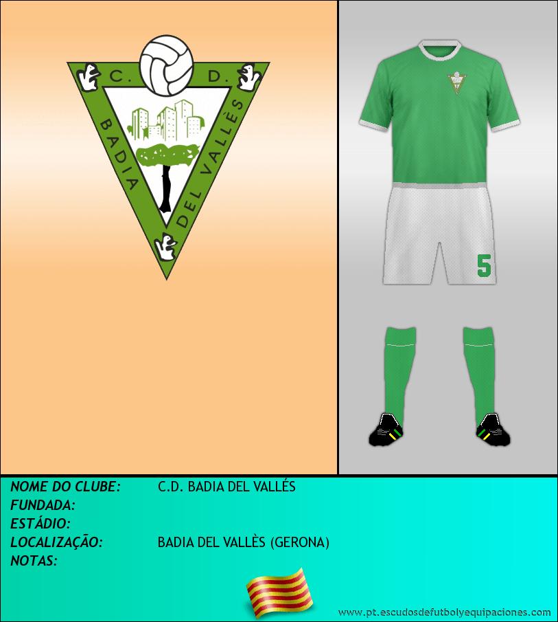 Escudo de C.D. BADIA DEL VALLÉS
