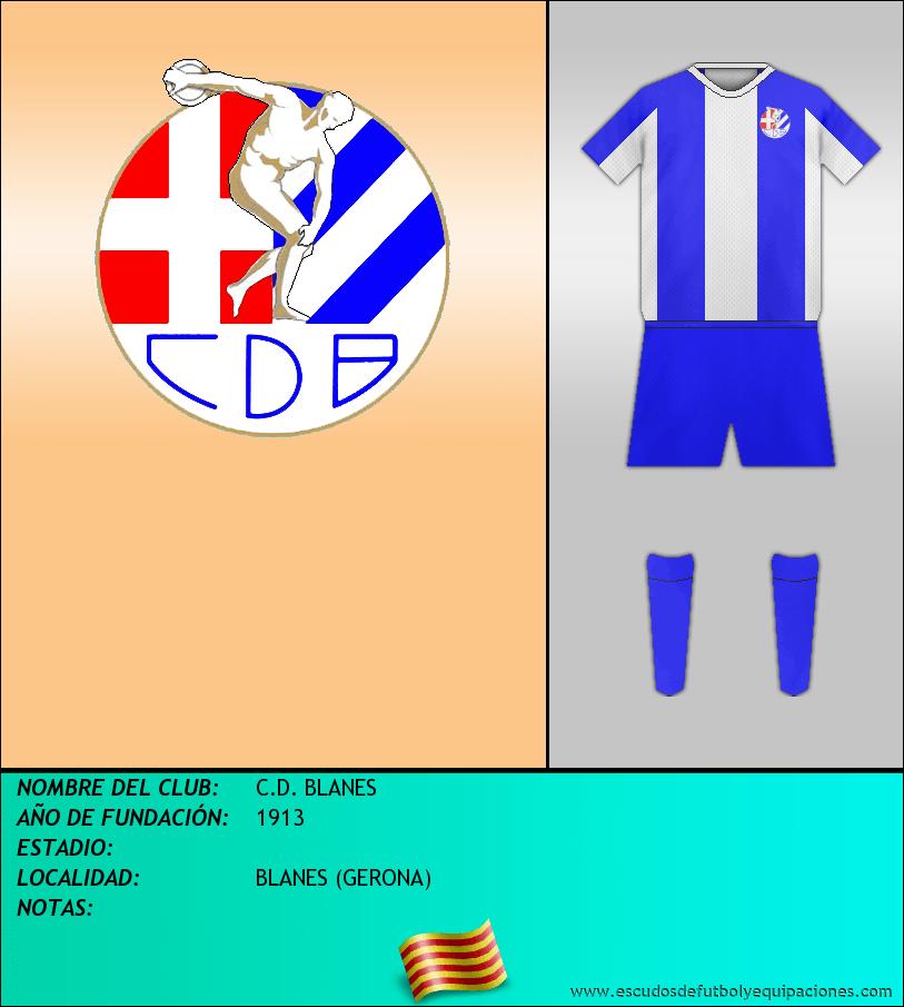 Escudo de C.D. BLANES