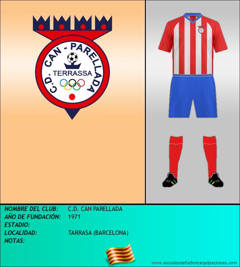 Escudo de C.D. CAN PARELLADA