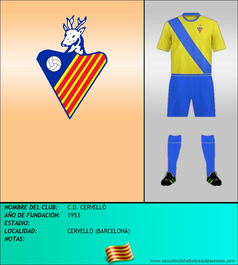 Escudo de C.D. CERVELLÓ
