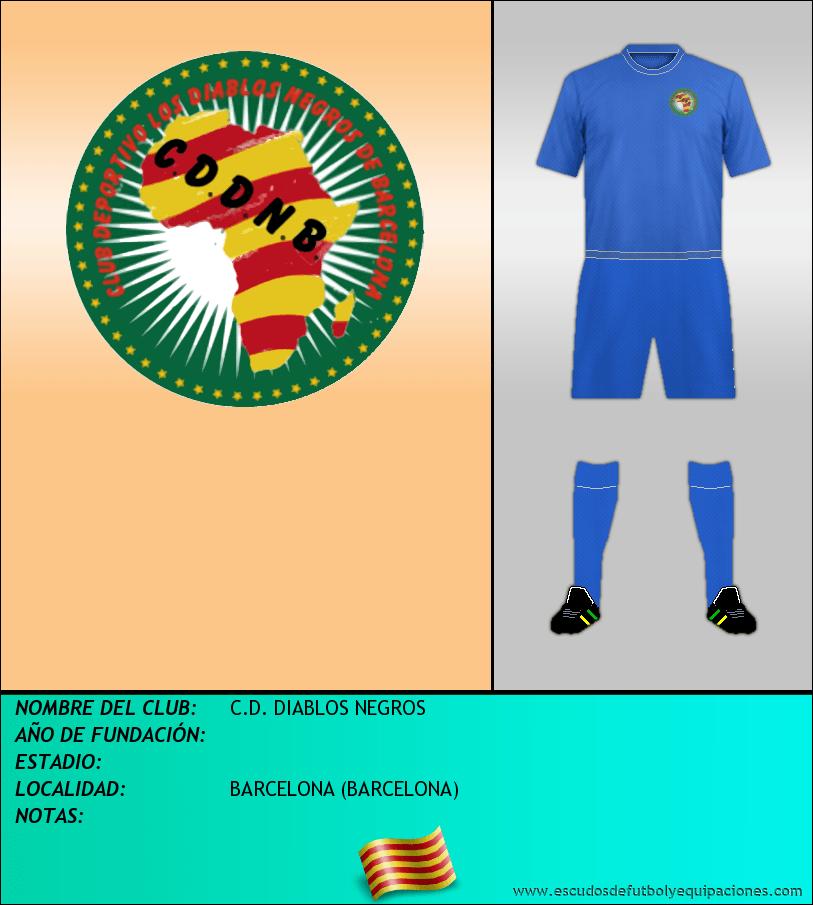 Escudo de C.D. DIABLOS NEGROS