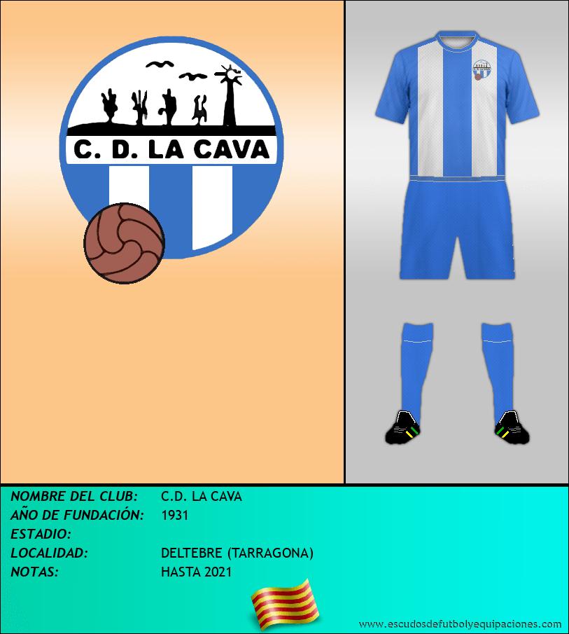 Escudo de C.D. LA CAVA