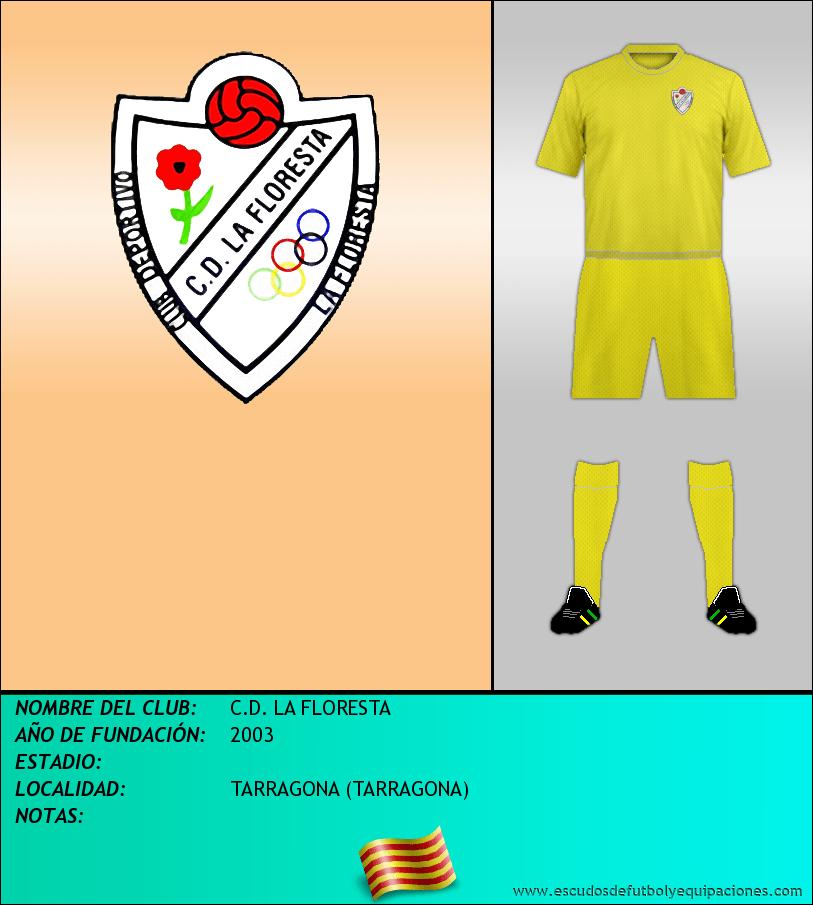 Escudo de C.D. LA FLORESTA