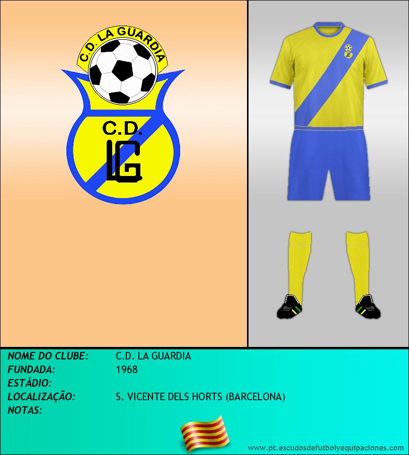 Escudo de C.D. LA GUARDIA