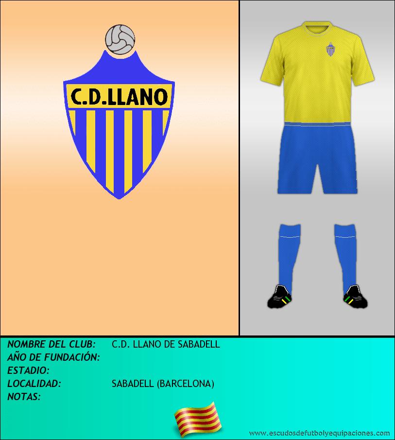 Escudo de C.D. LLANO DE SABADELL