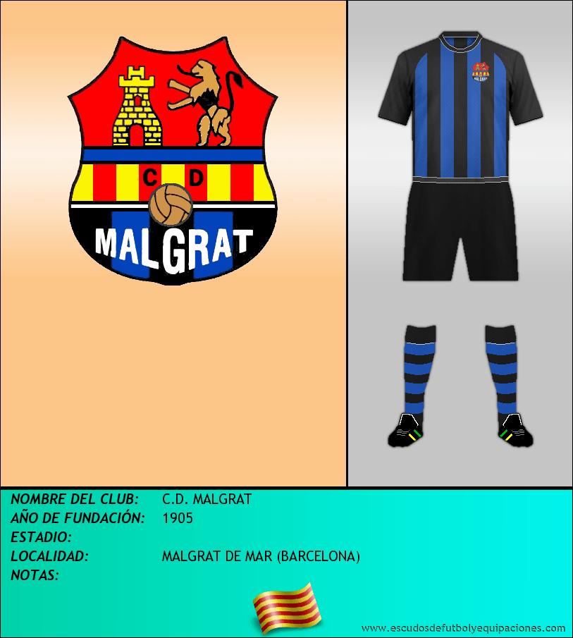 Escudo de C.D. MALGRAT