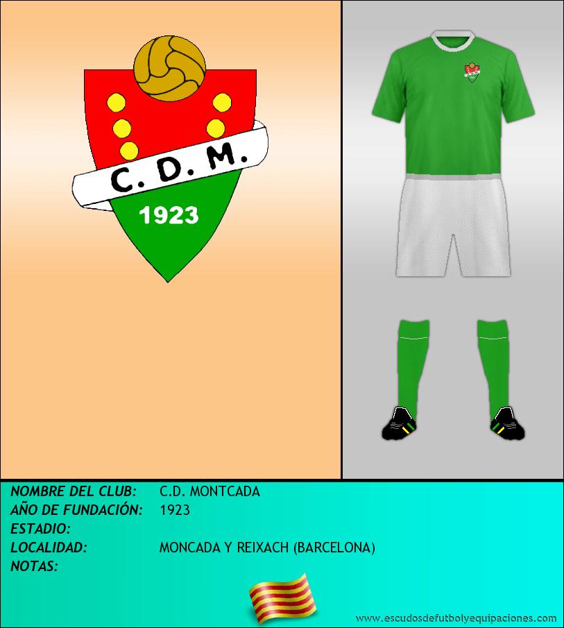 Escudo de C.D. MONTCADA