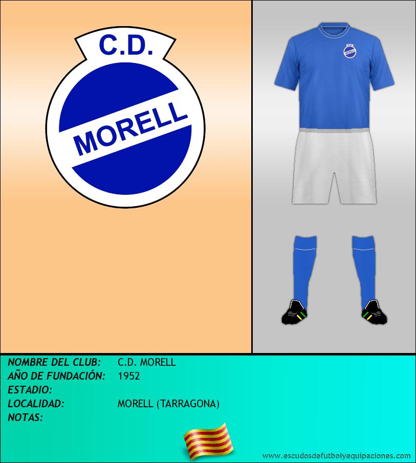 Escudo de C.D. MORELL
