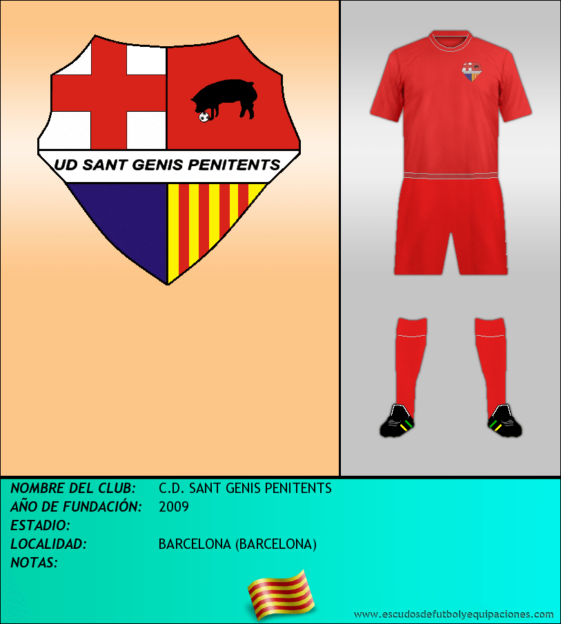 Escudo de C.D. SANT GENIS PENITENTS