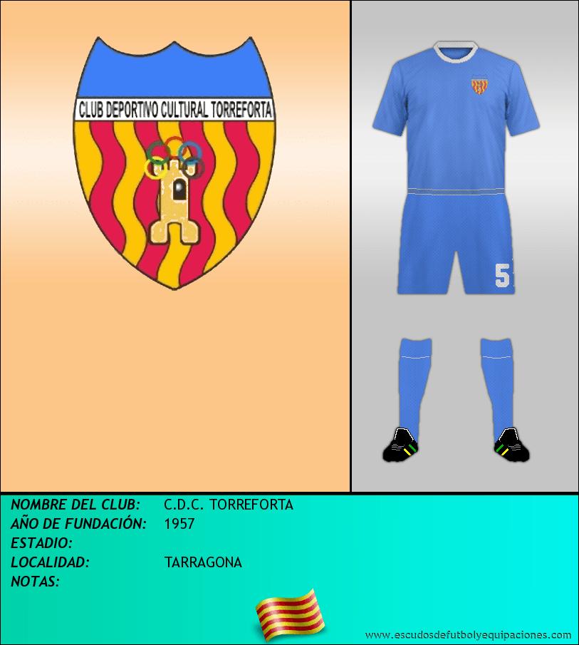 Escudo de C.D.C. TORREFORTA