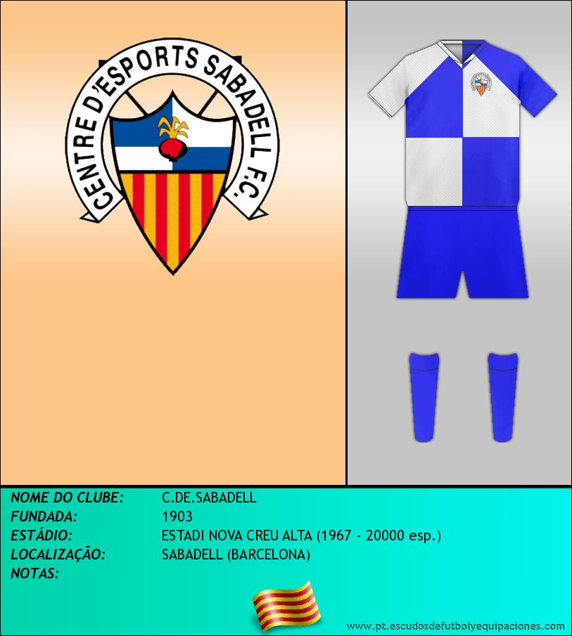 Escudo de C.DE.SABADELL