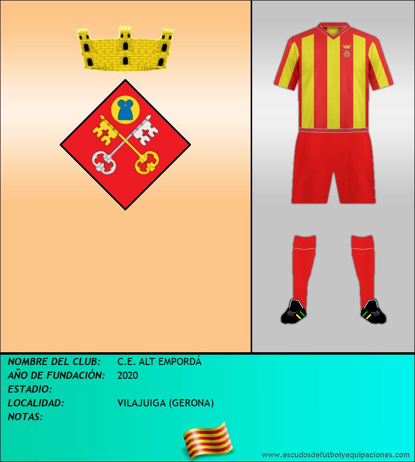 Escudo de C.E. ALT EMPORDÁ