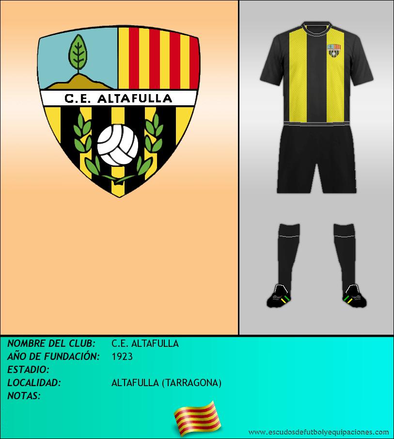Escudo de C.E. ALTAFULLA