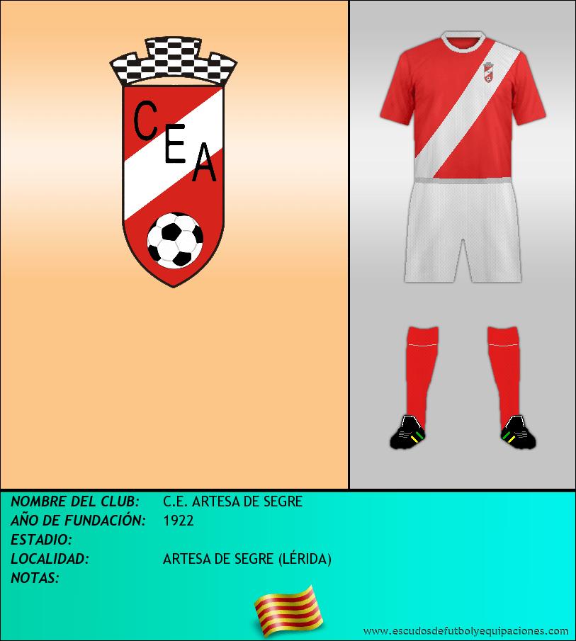 Escudo de C.E. ARTESA DE SEGRE