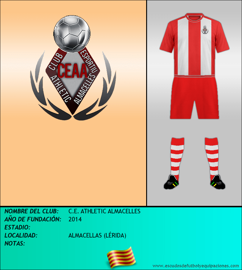 Escudo de C.E. ATHLETIC ALMACELLES