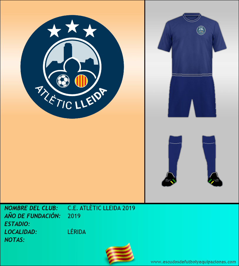 Escudo de C.E. ATLÈTIC LLEIDA 2019
