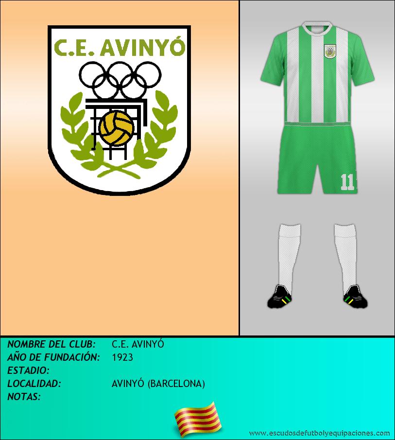 Escudo de C.E. AVINYÓ