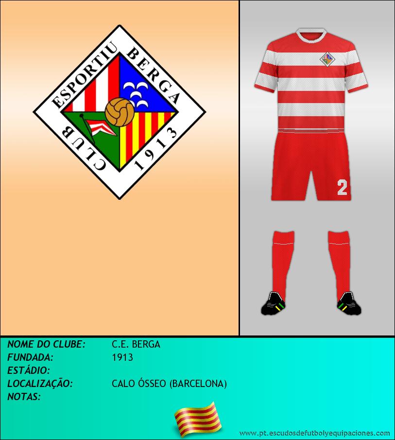 Escudo de C.E. BERGA