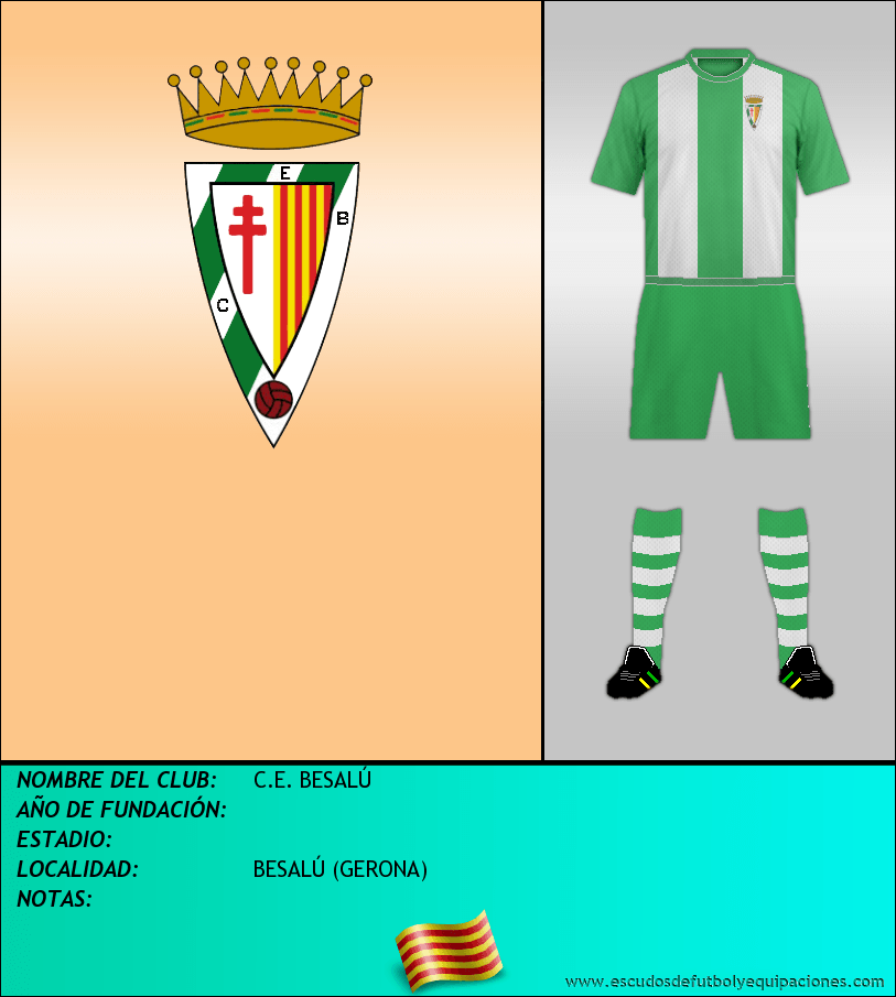 Escudo de C.E. BESALÚ
