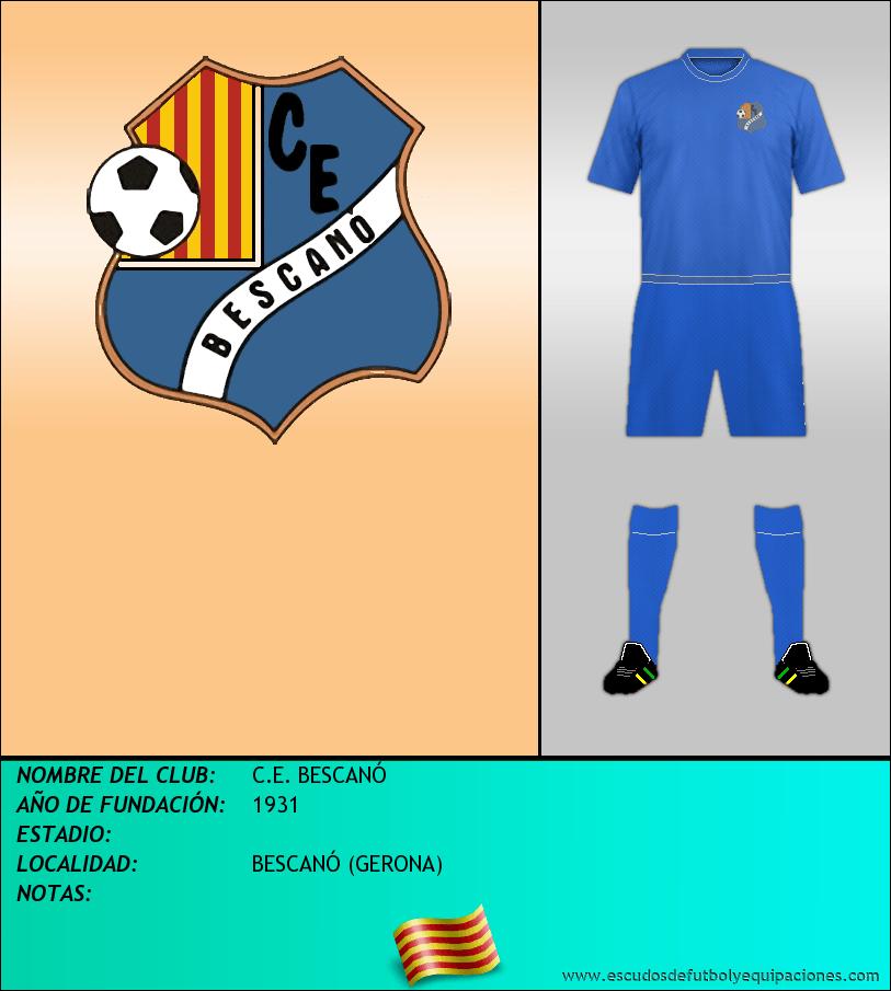 Escudo de C.E. BESCANÓ