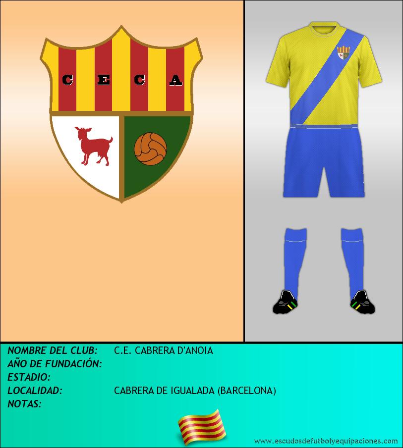Escudo de C.E. CABRERA D'ANOIA