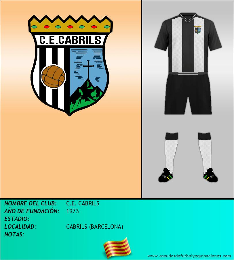 Escudo de C.E. CABRILS