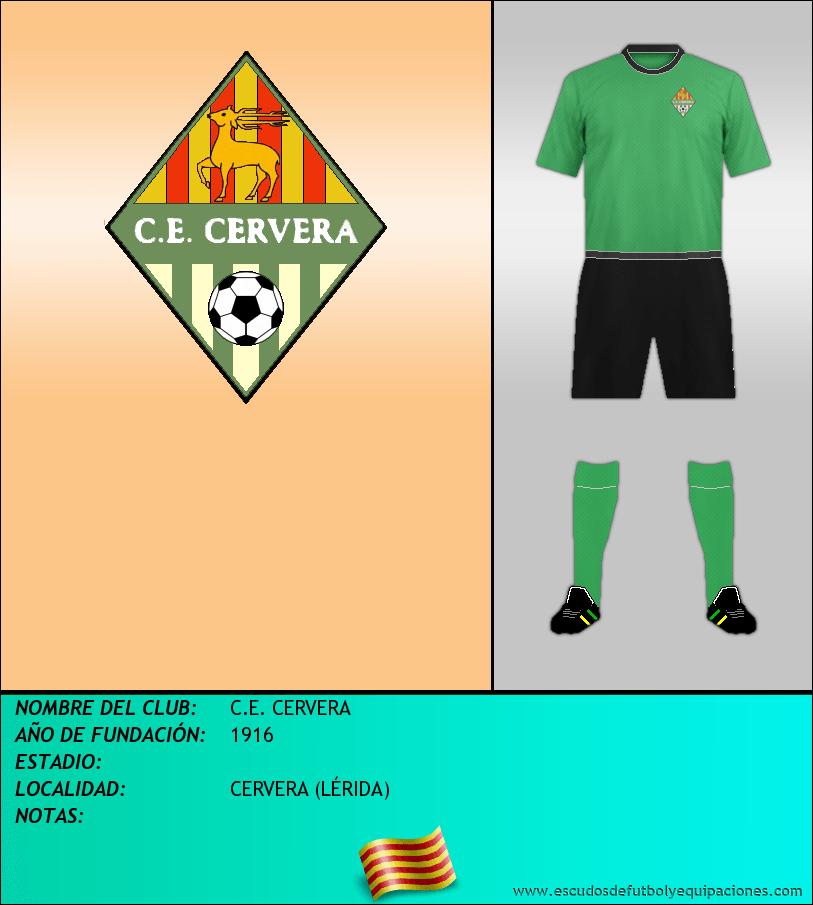 Escudo de C.E. CERVERA