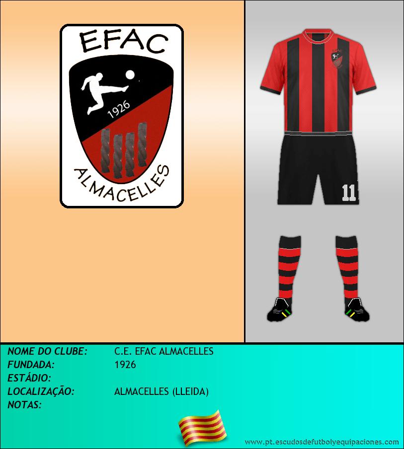 Escudo de C.E. EFAC ALMACELLES