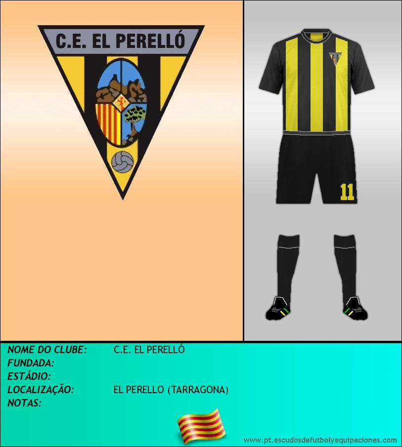 Escudo de C.E. EL PERELLÓ