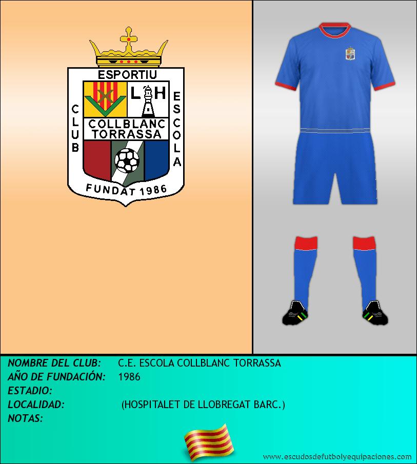 Escudo de C.E. ESCOLA COLLBLANC TORRASSA