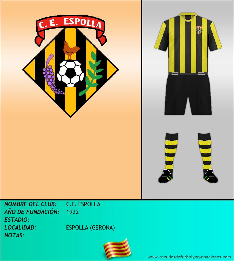 Escudo de C.E. ESPOLLA