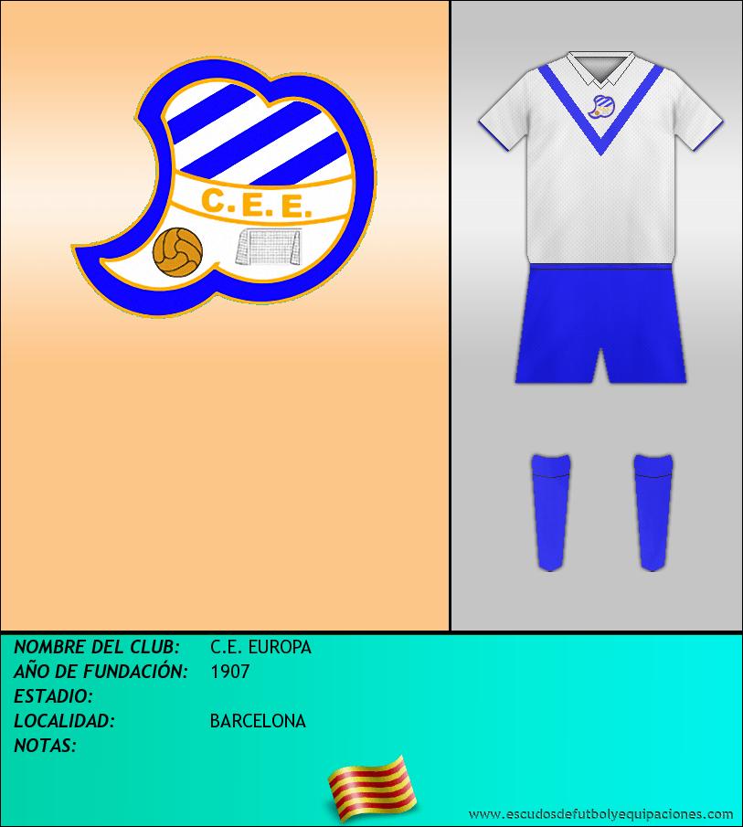 Escudo de C.E. EUROPA