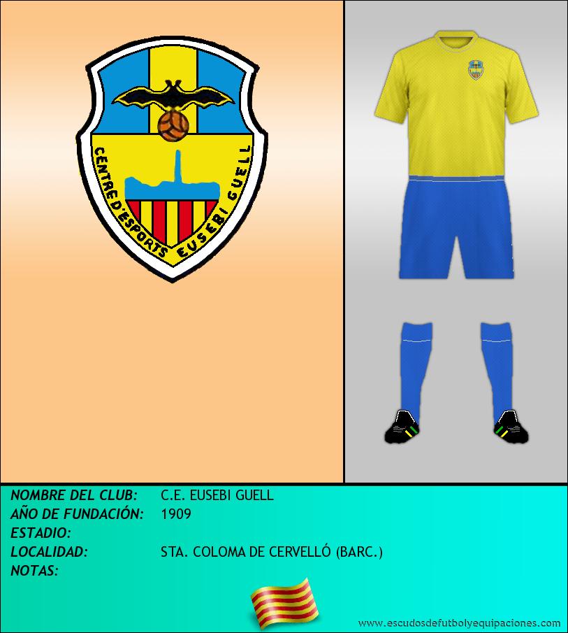 Escudo de C.E. EUSEBI GUELL