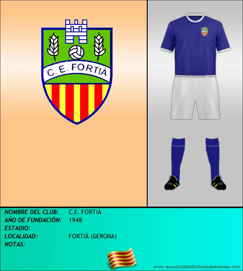 Escudo de C.E. FORTIÀ