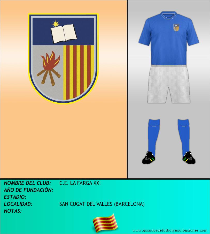 Escudo de C.E. LA FARGA XXI