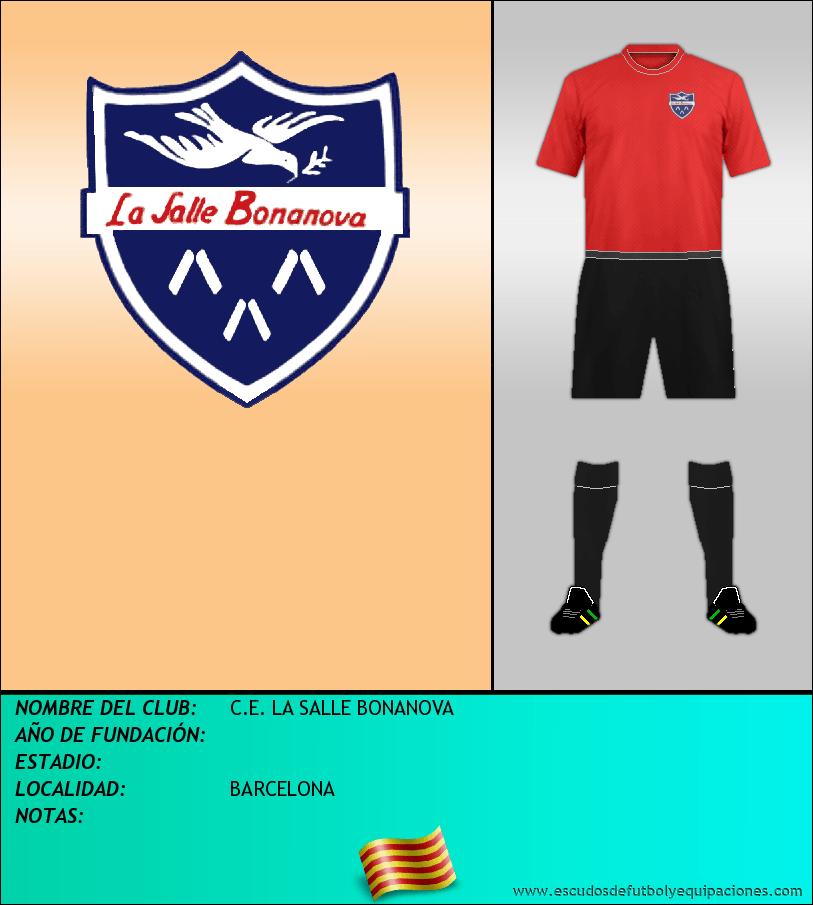 Escudo de C.E. LA SALLE BONANOVA