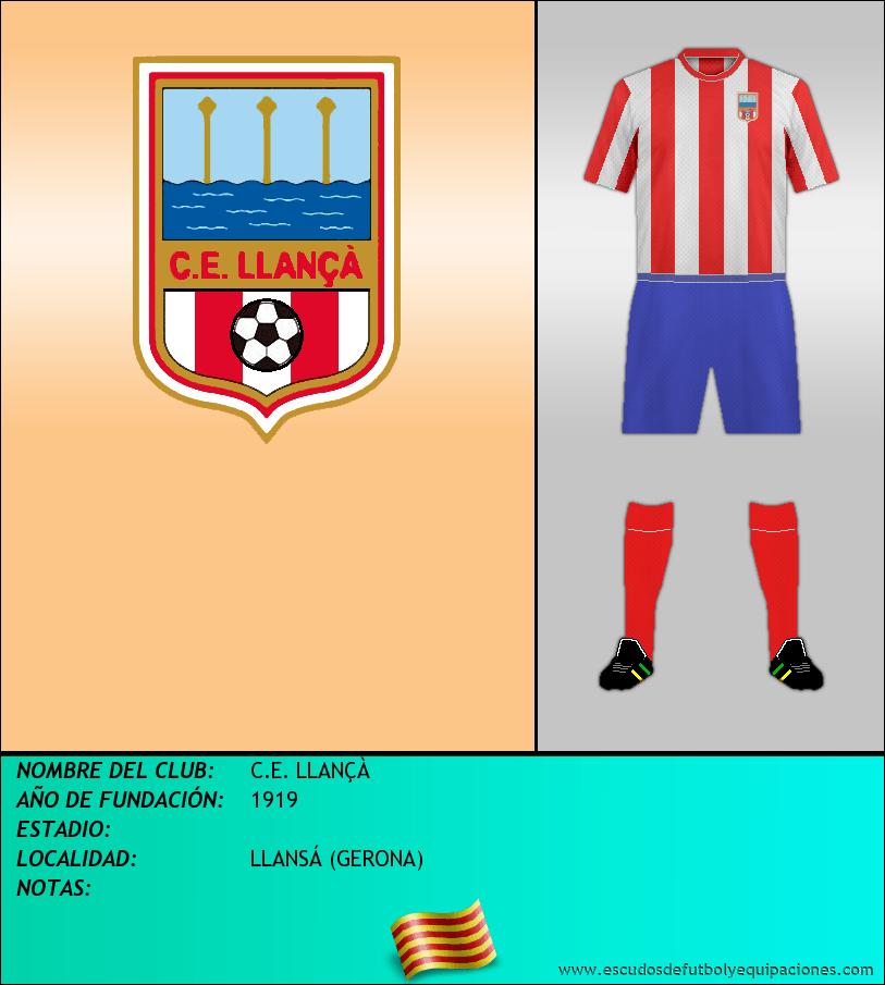 Escudo de C.E. LLANÇÀ