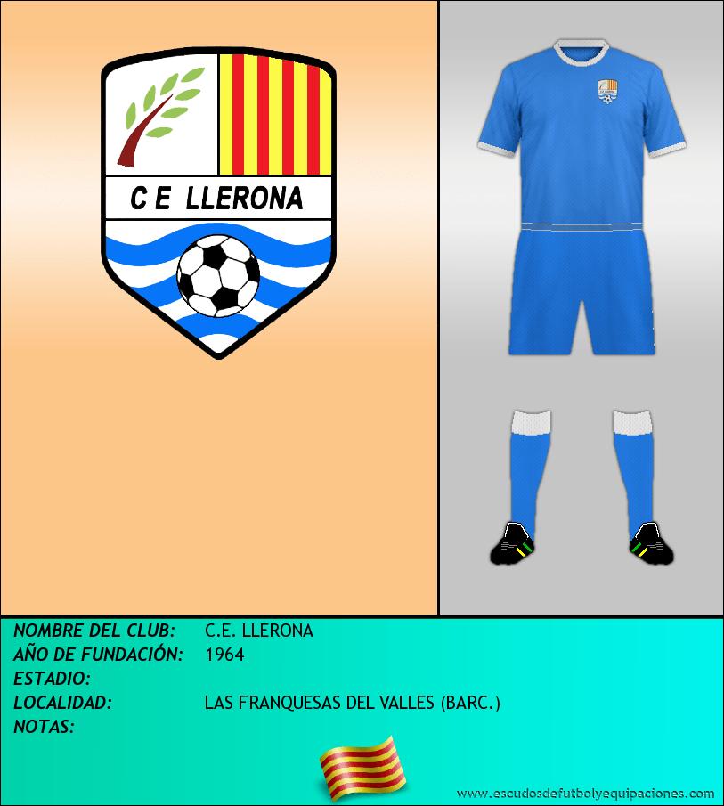 Escudo de C.E. LLERONA