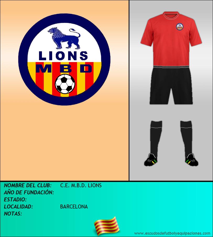 Escudo de C.E. M.B.D. LIONS