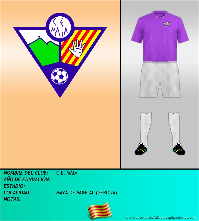 Escudo de C.E. MAIÀ