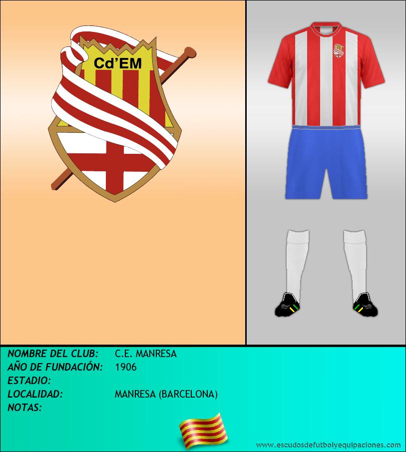 Escudo de C.E. MANRESA