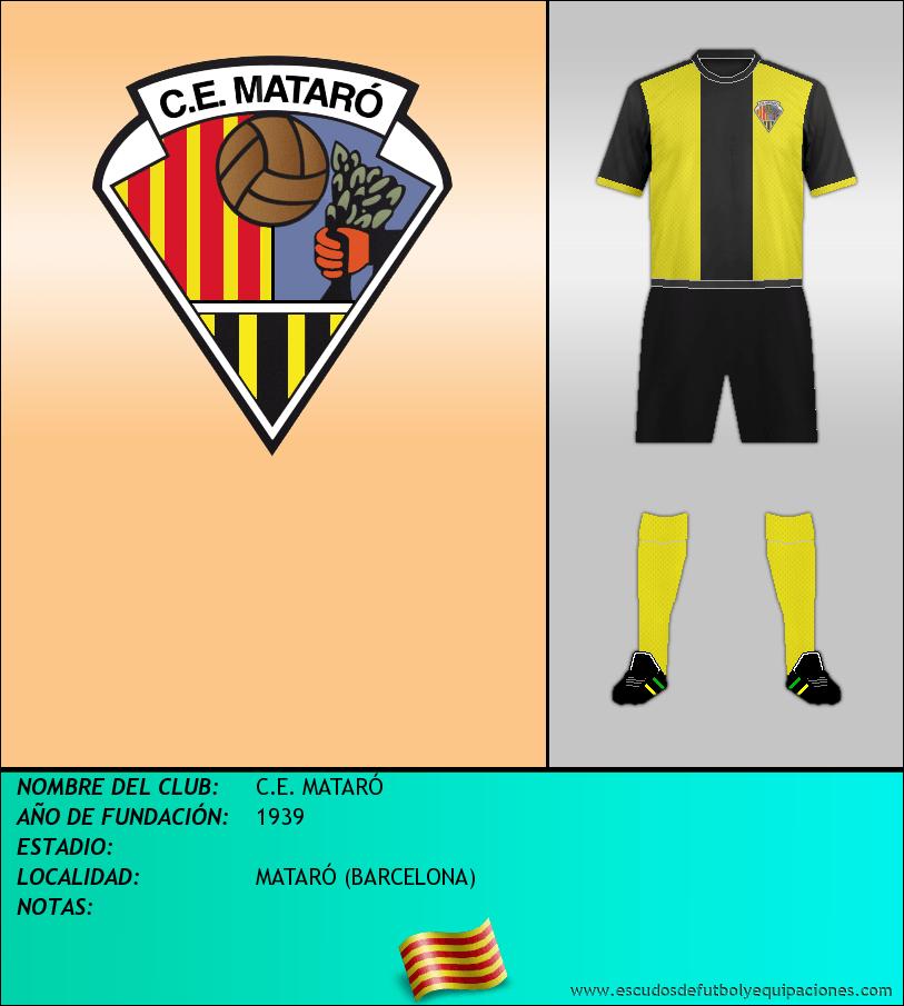 Escudo de C.E. MATARÓ