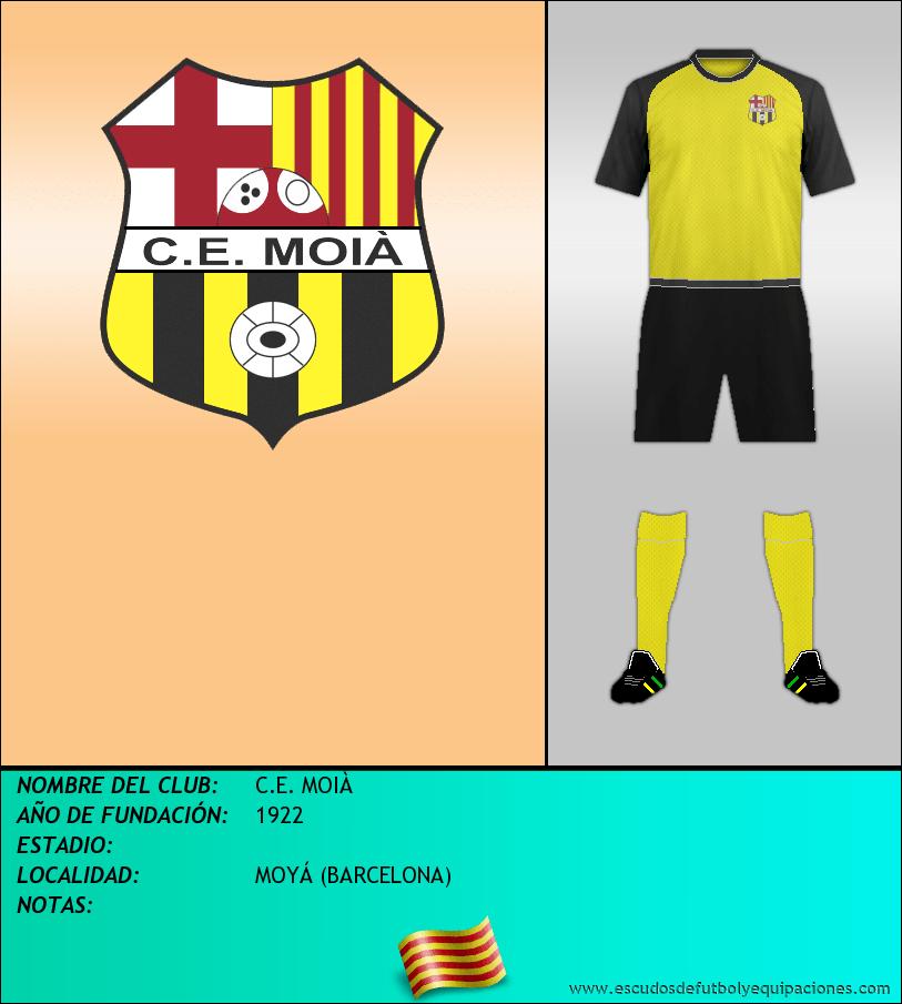 Escudo de C.E. MOIÀ