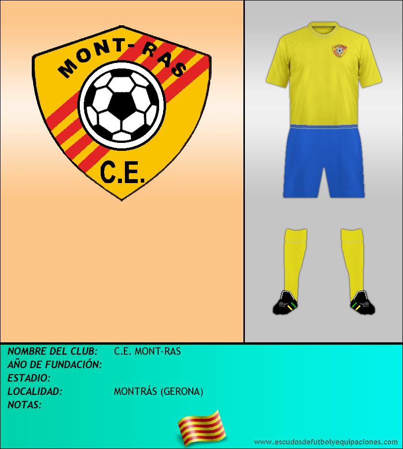 Escudo de C.E. MONT-RAS