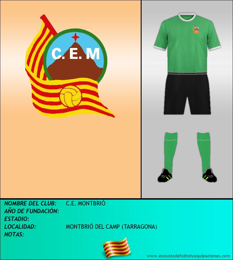 Escudo de C.E. MONTBRIÓ